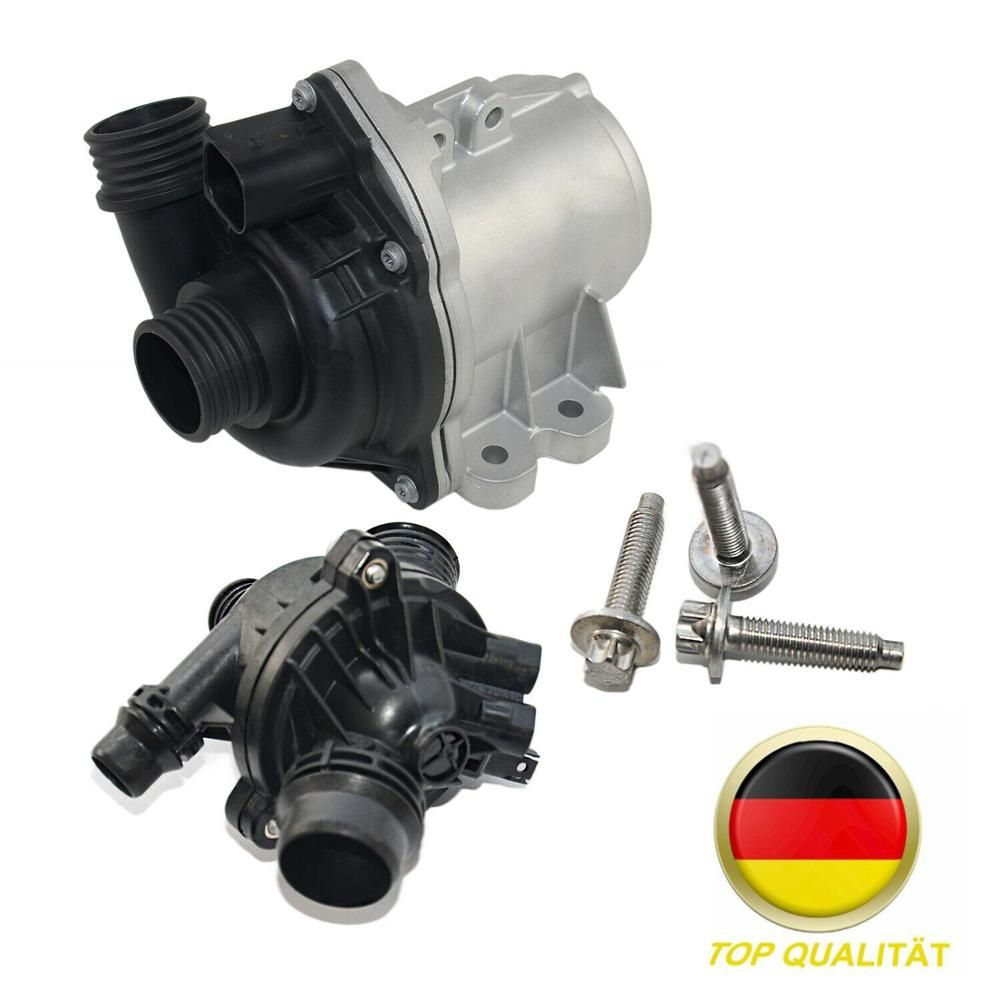 AP03 Electric Water Pump & Thermostat For BMW 335i 135i 135is 335is 535i 335d 740i X3 X5 X6 Z4 11517632426 ,11537549476
