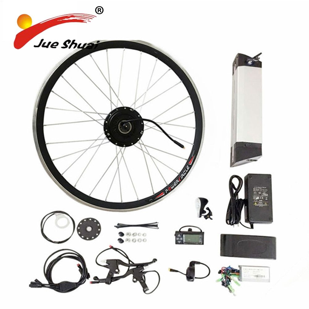 2016 year Hot Sale 36V 10AH lithium battery Electric Bike Kit With 250/350/500W Motor E-Bike Kit LED Or LCD Display (CK-BT01)