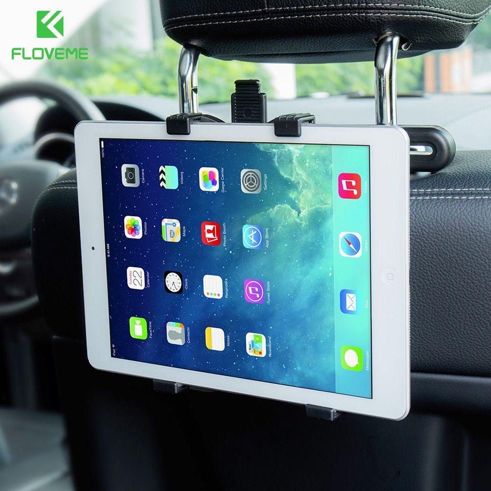 FLOVEME 7 ''-11'' Universal Auto Auto Tablet Halter Für iPad 2/3/4 Mini 1 2 3 4 Air 1 2 Pro Auto Rücksitz Tablette Autohalterung Stehen