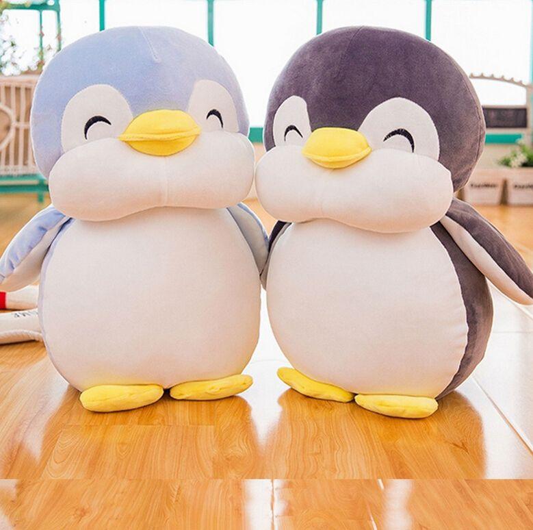 30cm doux gros pingouin jouets en peluche personnel dessin animé Animal poupée mode jouet pour enfants bébé belles filles cadeau d'anniversaire de noël