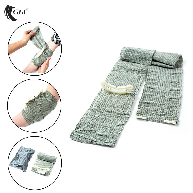 Outdoor FirstAid Hemostasis Military tourniquet Compression Israeli Bandage Sterilization One-handed operation Sterile  survival