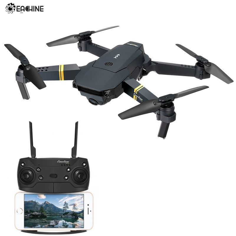 Eachine E58 WIFI FPV With Wide Angle HD Camera High Hold Mode Foldable Arm RC Drone Quadcopter RTF