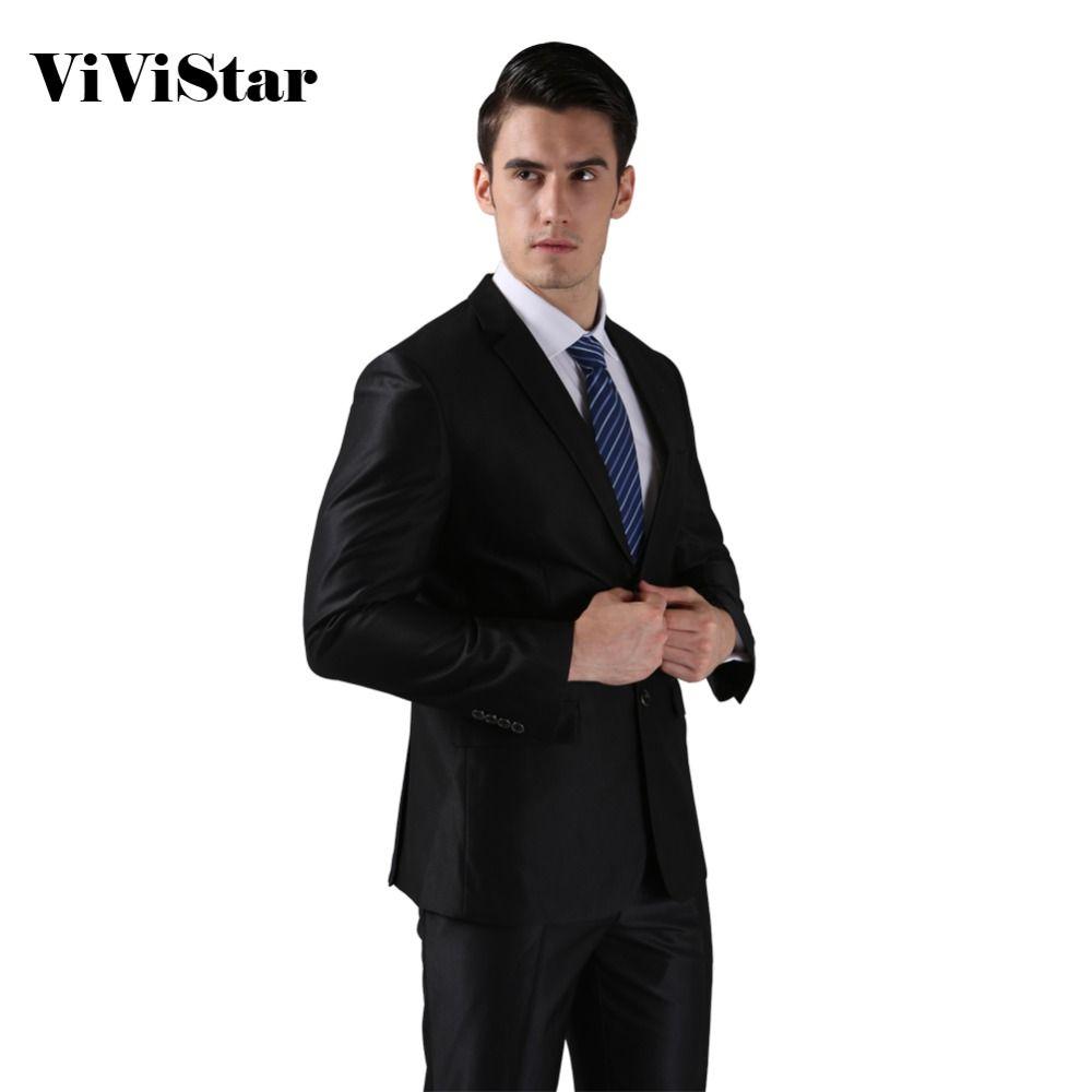 ( Vestes + pantalon ) 2016 nouveau hommes costumes Slim Custom Fit Tuxedo marque robe affaires mode Bridegroon mariage costumes Blazer H0285