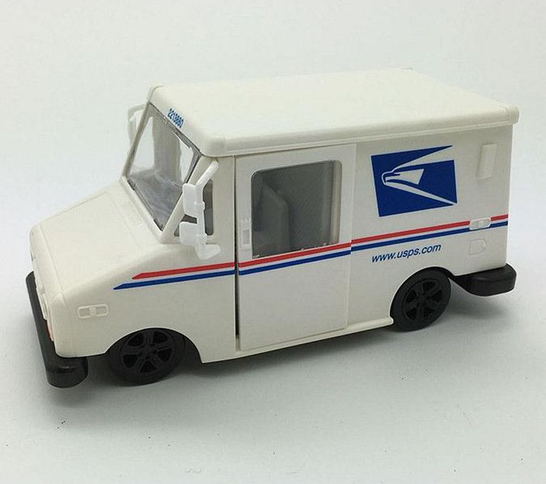 1:43 scale inertia car models,high simulation UPS express truck,metal diecast toy vehicle,3 open the doors,free shipping
