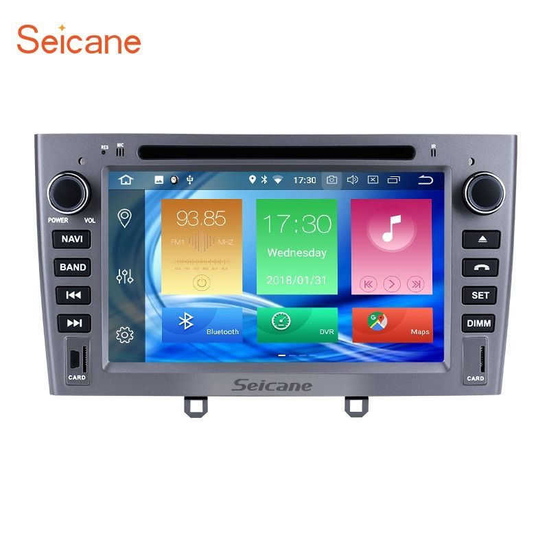 Seicane 2Din Android 8.0 7 zoll Auto GPS Navigation Radio Multimedia Player Für PEUGEOT 408 mit Bluetooth Wifi FM 4g 32g 8-core