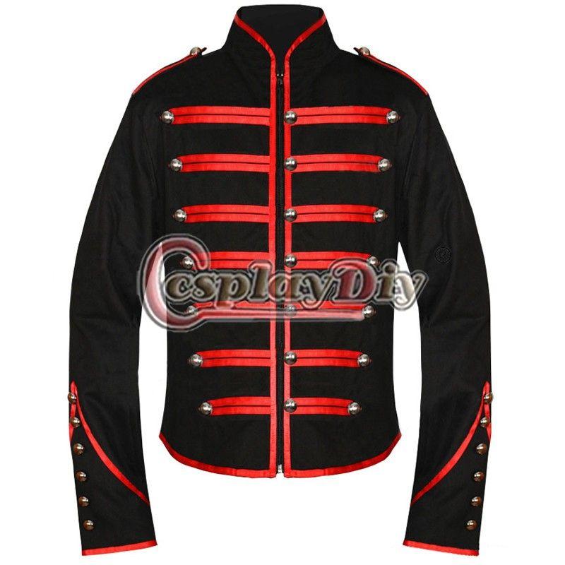 28 stücke My Chemical Romance Military Jacke Mantel für kunden