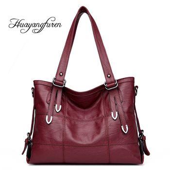 Лоскутное Для женщин Повседневное сумка черные туфли высокого качества из искусственной кожи оригинальная сумочка Винтаж шить сумка SAC Q3
