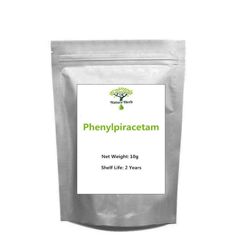Heißer Verkauf Hohe Qualität 99% Phenylpiracetam Pulver 10g 20g 50g 100g
