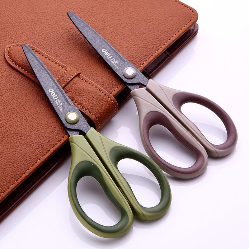 1 шт. Ножницы для взрослых дома и сада тефлон обработки поверхности Анти-ржавчина 70x165 мм 3 цвета гастроном 6055