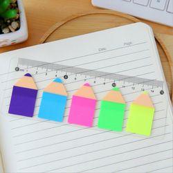 1 unidades de Lytwtw nuevo caramelo lindo lápiz notas Kawaii Bloc de notas Filofax Memo Pads Oficina escuela DIY papelería gobernante
