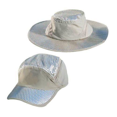 Casquette de refroidissement Cool crème solaire refroidissement casquette de glace plage pêche en plein air air vent froid casquette respirante