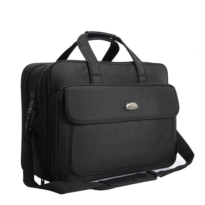 17 Inch Computer Laptop Bag Multilayer Thick Oxford Cloth Briefcase Lcapacity Waterproof Portable Shoulder Messenger Bag
