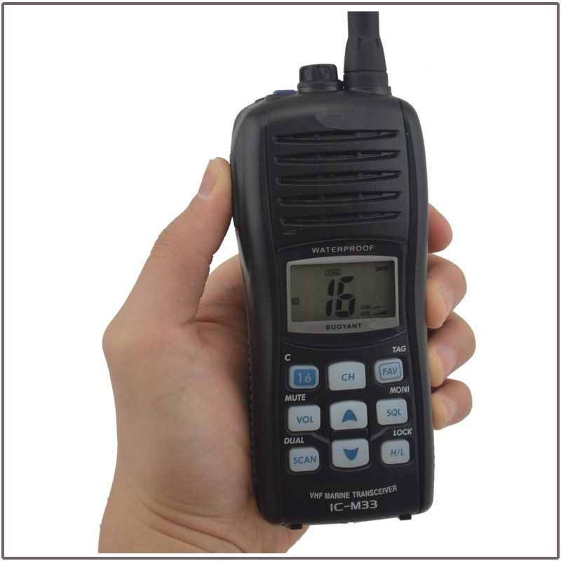 Hot Sale BUOYANT Waterproof IC-M33 VHF Marine Transceiver(for icom)