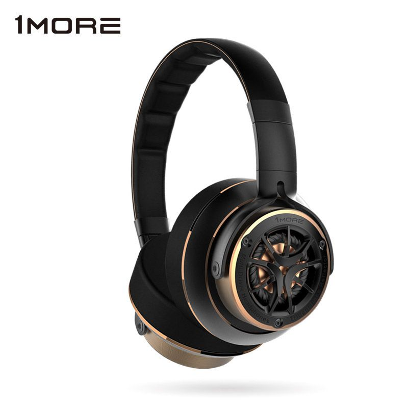 1MORE H1707 Triple Driver Over Ear Headphones with Microphone Mp3 Bass Hifi Headband Headphones for iOS and Android Xiaomi