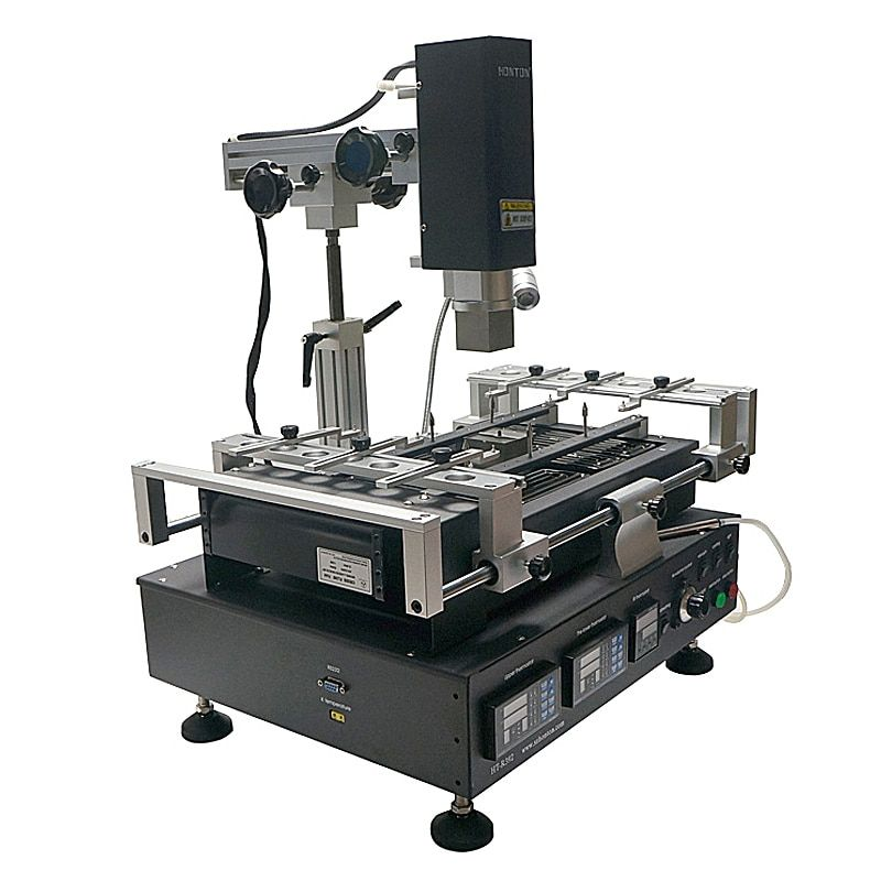 Honton HT R392 welding machine 3 temperature zones infrared & hot air lead free BGA rework station