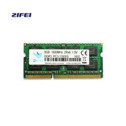ZIFEI Mémoire RAM ddr3 so dimm à dimm 2G1333 4G 8G Ordinateur Portable DDR 1600 Memoria DRAM Bâton pour portable