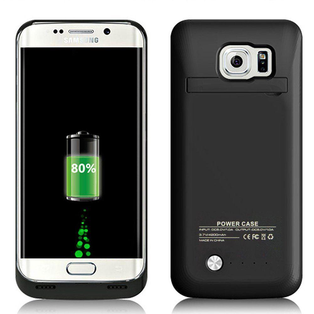 Neng Neue 4200 mAh Ladegerät Fall für Samsung Galaxy S7 Ladegerät Drahtlose Smart Handy Backup Power Bank