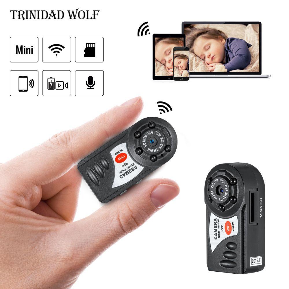 HD Q7 Mini Camera Wifi Infrared Night Vision Small Camera DV DVR Wireless IP Cam Video <font><b>Camcorder</b></font> Recorder Support TF Card