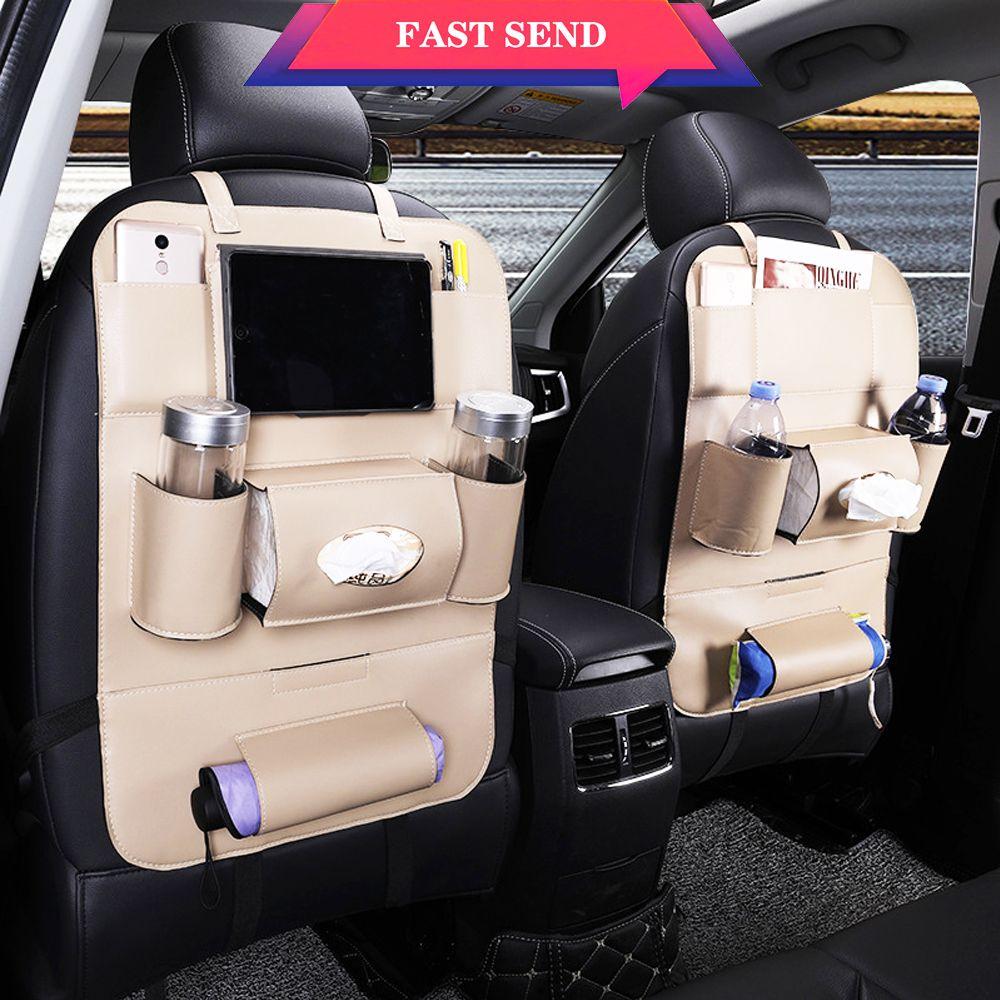 Top vente sac de rangement pour siège de voiture sac arrière pour siège de voiture sac multifonction style de voiture siège de sécurité pour enfant sac arrière pour siège de voiture