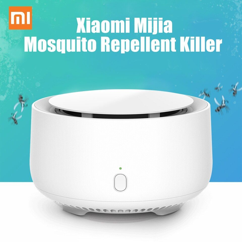 Original Xiaomi Mückenschutz Mörder Dispeller Keine Heizung Fan Verflüchtigung Insekt Repeller Innen Austauschbare Repellents