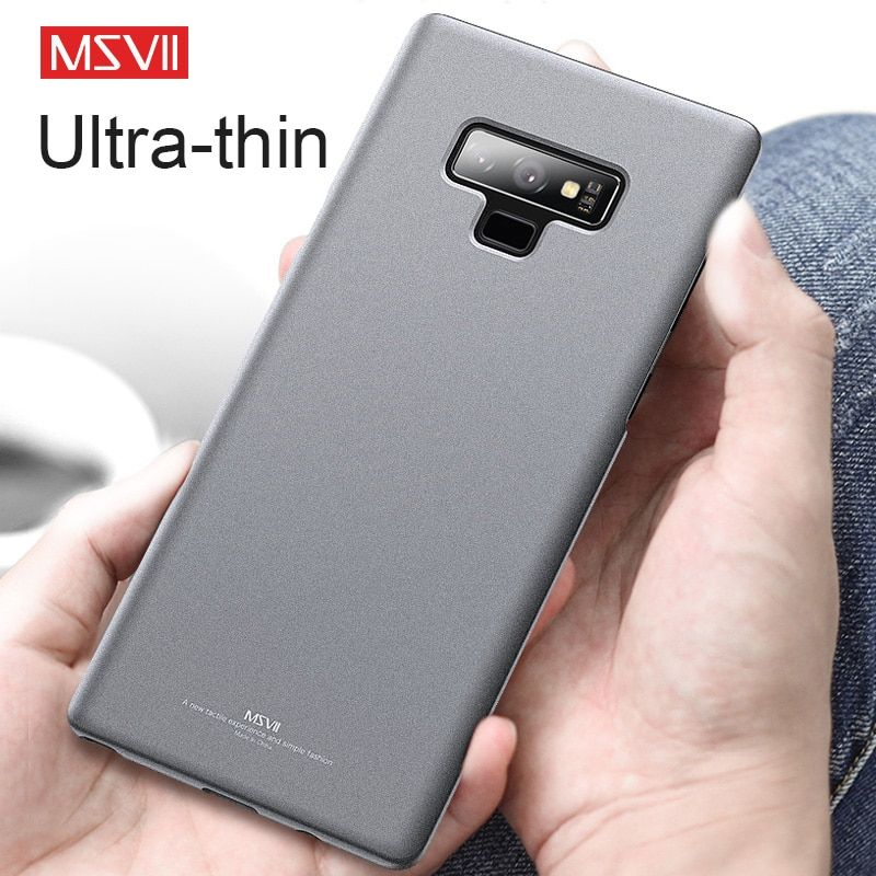 Msvii Ultra-slim Matte Case for Samsung Galaxy Note 9 Cover Luxury Fit Premium Shock Absorbing Scratch Resistant Compatible Case