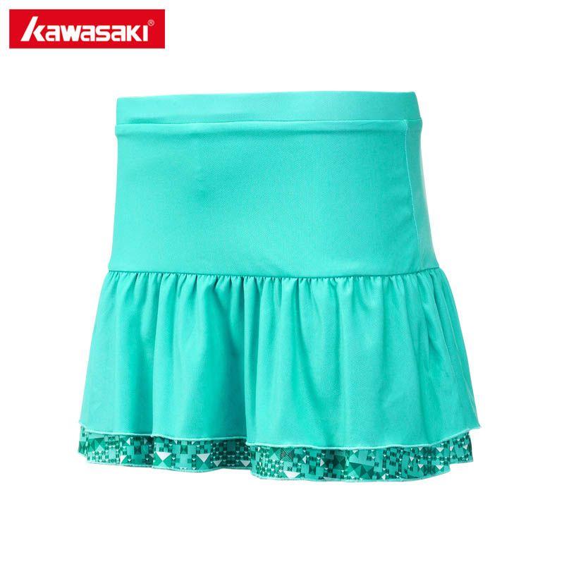 Kawasaki frauen Sommer Sport Rock mit Shorts Badminton Tennis Skorts Atmungsaktive Anti Leckage Yoga Jogging Röcke SK-172702