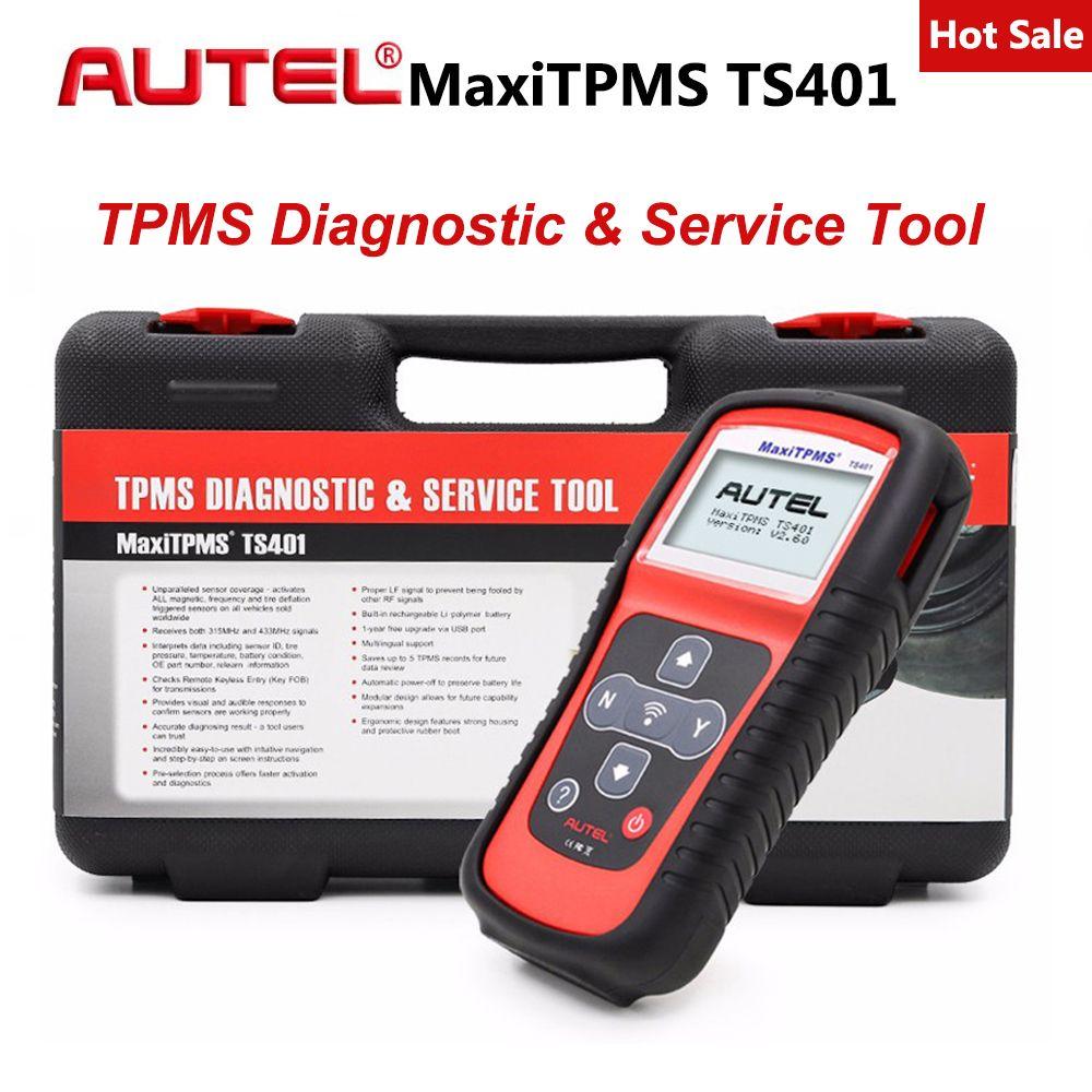 Autel Maxitpms TS401 TPMS Diagnose Werkzeug Empfangen 315 mhz 433 mhz Sensor Signale Reifen Druck Tester Aktivieren Relearn Sensor Werkzeug