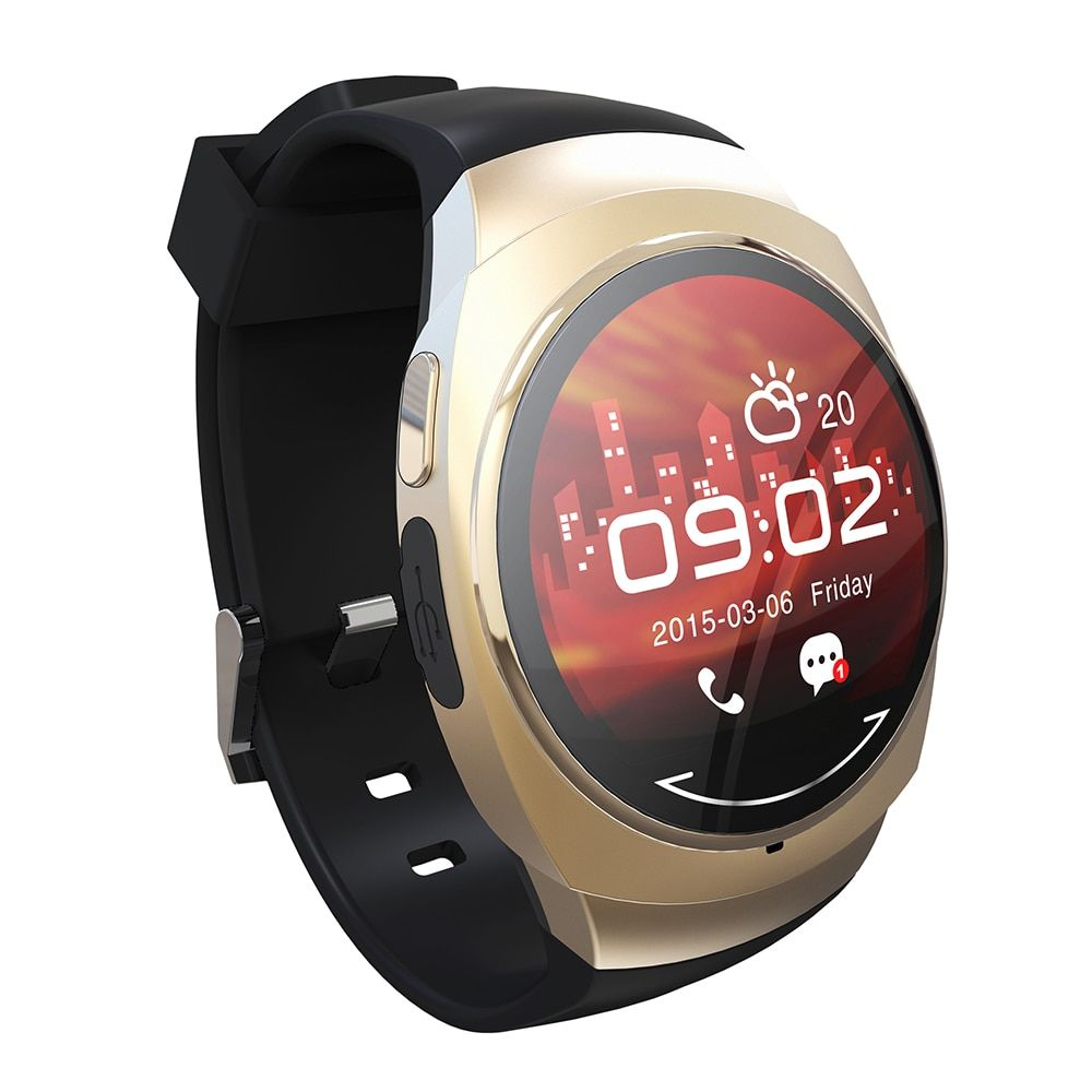 Fashion U0 1.22'' TFT Touch Smart Bluetooth Watch NFC Pedometer Sleep Monitor Compass Remote Camera Calls Sync Message Push.