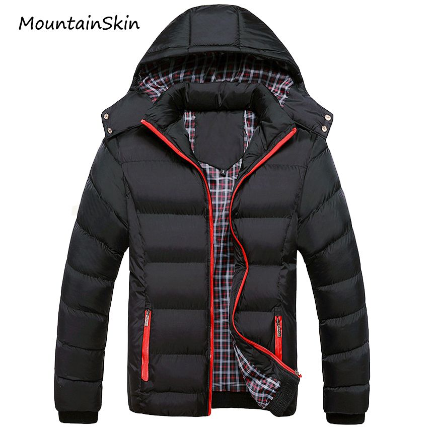 Mountainskin 5XL 2017 Men Winter Jacket Warm Male Coats Fashion Thick Thermal Men Parkas Casual Men Branded Clothing LA140