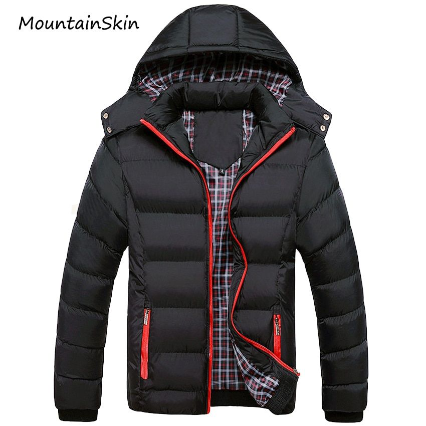 Mountainskin 5XL 2017 Men Winter Jacket Warm Male Coats Fashion Thick Thermal Men Parkas Casual Men Branded Clothing LA140
