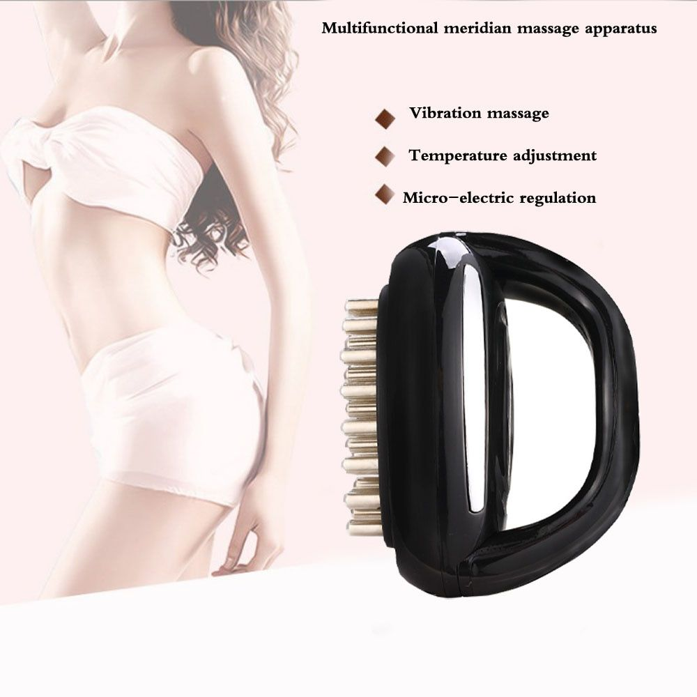 Electric Vibrator Intelligent Meridian Massager brush Infrared Detoxification Therapy Relax Muscle Pain Relief Improve immunity