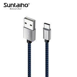 Suntaiho USB C pour samsung galaxy s9 Câble type c pour Samsung s9 s8 Un plus 5 t XiaoMi mi6 mi5 1 M 2 M 3 M Rapide De Charge Données câble