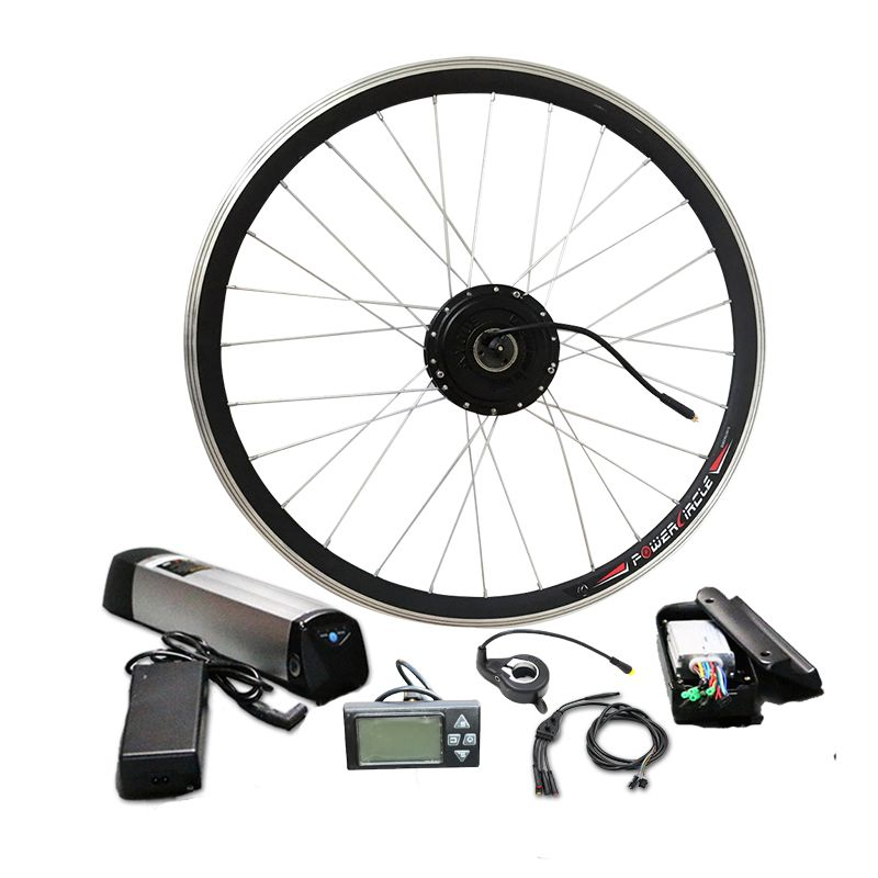 Best Price $219 Simple Electric Bike Kit With 36V Battery E Bicycle kit MTB 250W 350W 500W Hub motor Optional max 44km/h Thumb
