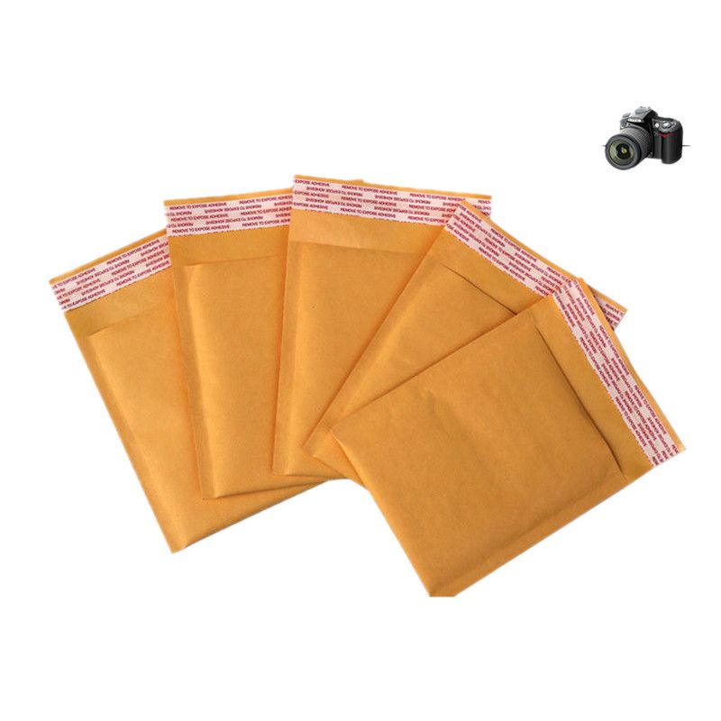 10PCS/LOT Bubble Mailers Padded Envelopes Packaging Shipping Bags Kraft Bubble Mailing Envelope Bags24*36CM