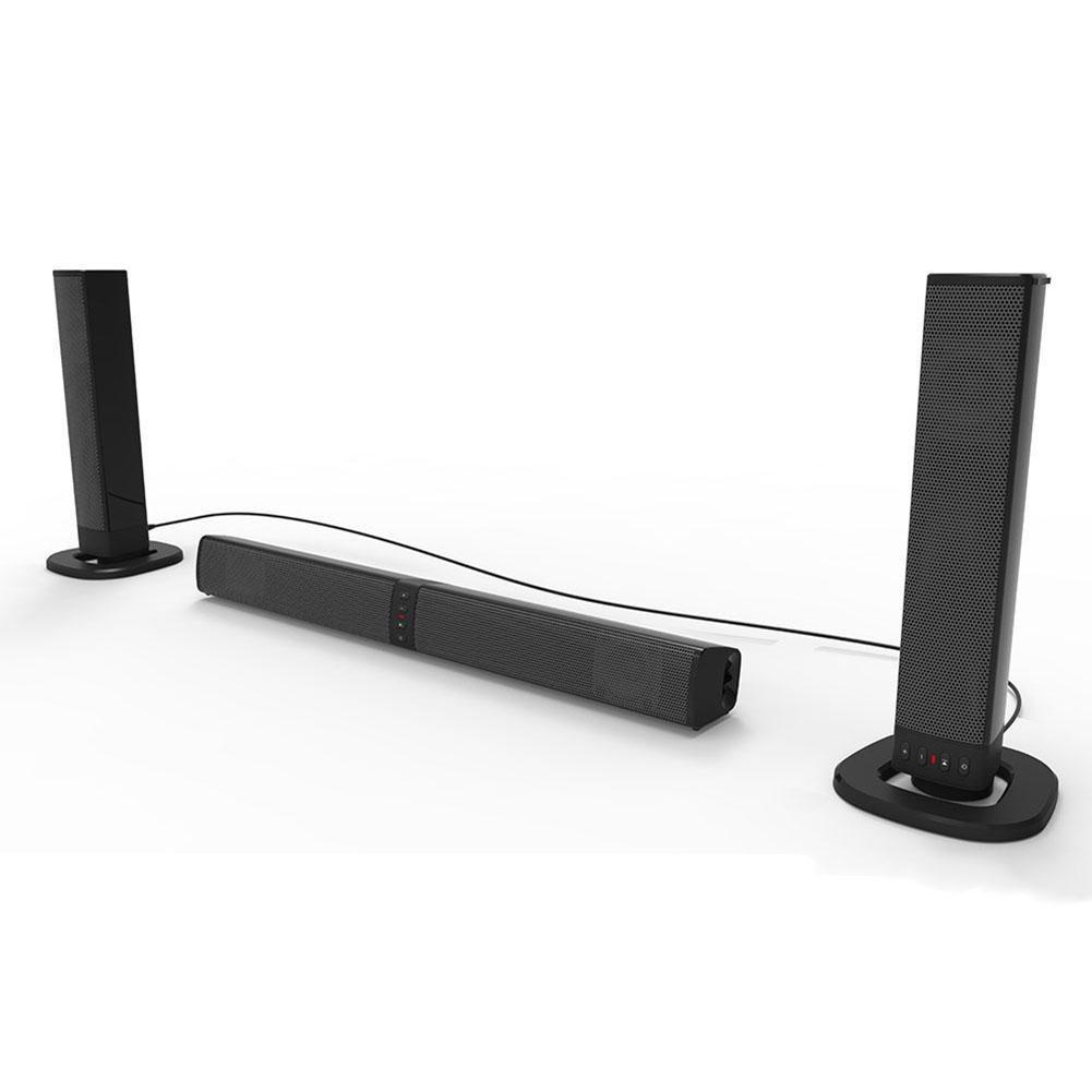 Sound Blaster Bluetooth Lautsprecher Innovative Modische Faltbare Split TV Lautsprecher heimkino FM Radio USB Karte DIY Innovative