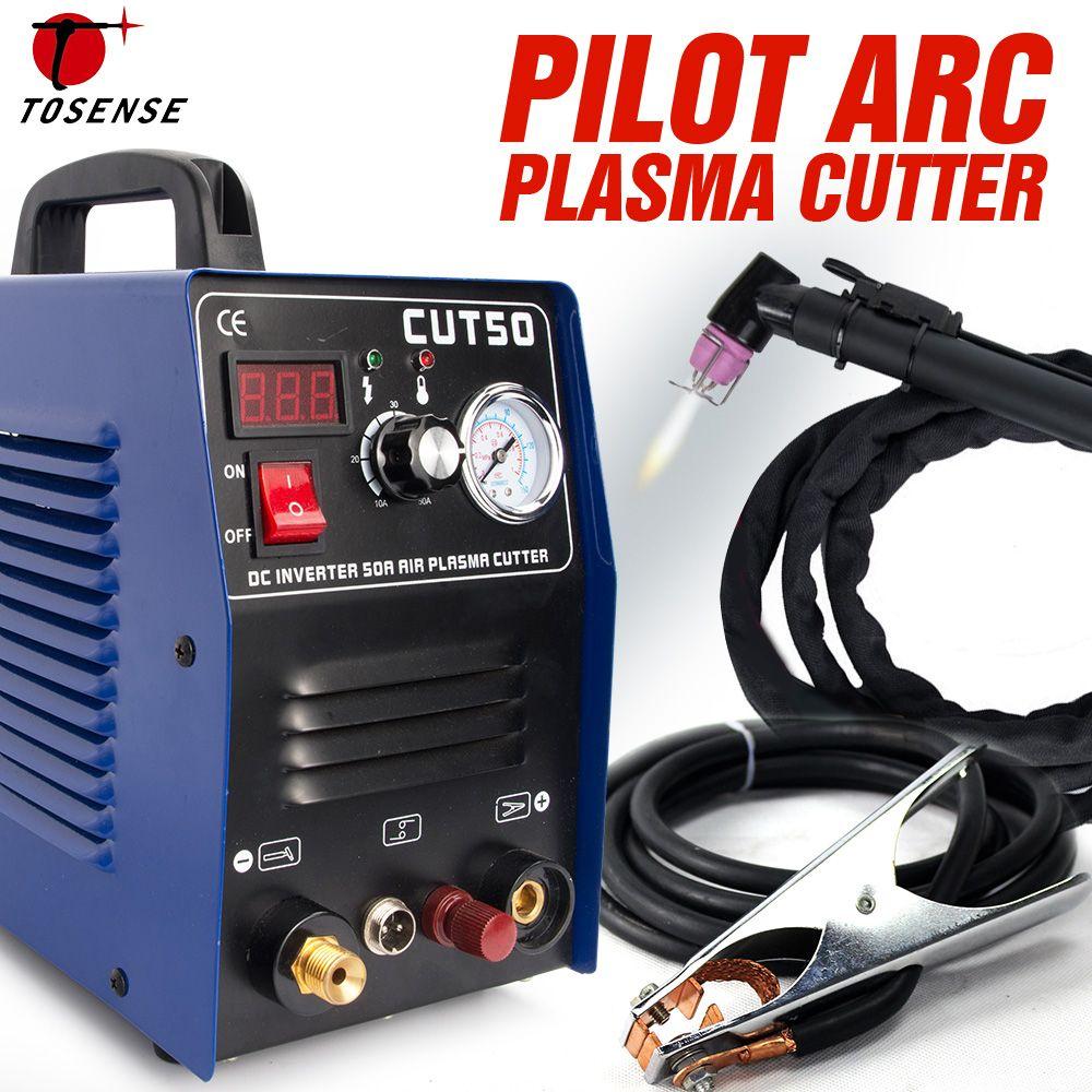 Pilot Arc Plasma Cutter Plasma Schneiden Maschine 220 v 50A IGBT HF Arbeit mit CNC