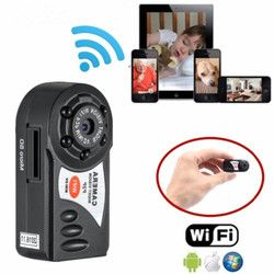 Mini Q7 Camera 720P Wifi DV DVR Wireless IP Cam Brand New Mini Video Camcorder Recorder Infrared Night Vision Small Camera