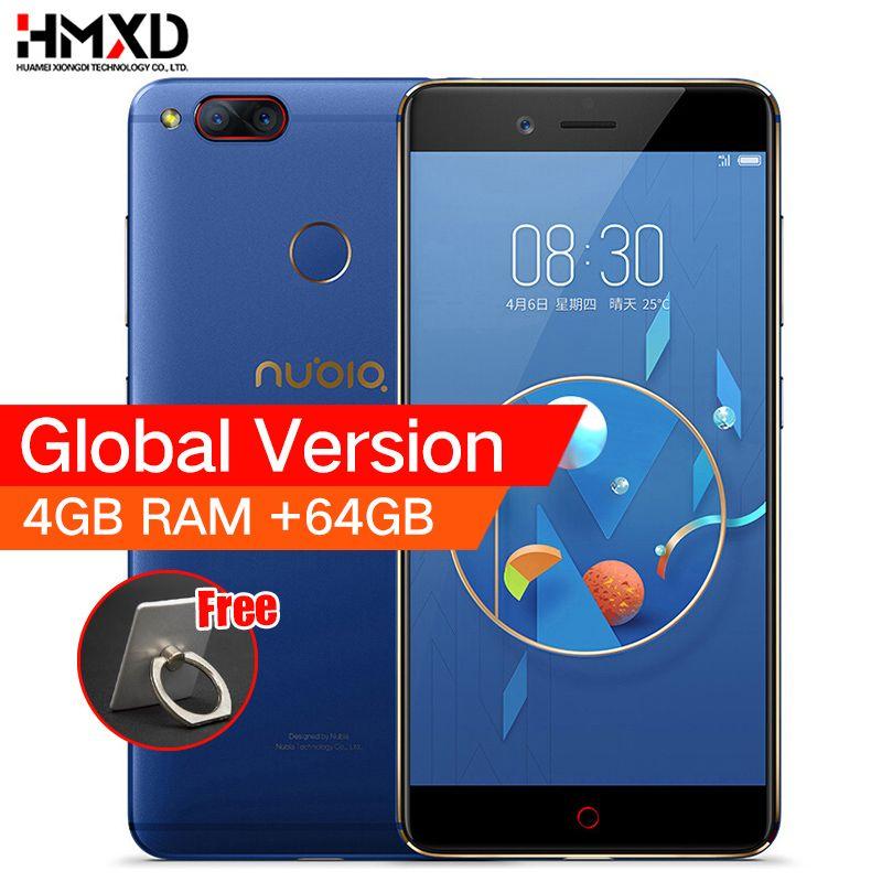 ZTE Nubia Z17 Mini Dual Back Camera Smartphone 4GB/6GB RAM 64GB ROM 5.2inch Snapdragon 652 MSM8976 Dual SIM Cards Mobile Phone