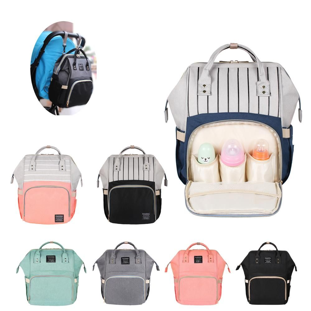 40 Colors Large Capacity Diaper Bag Mummy Maternity Nappy Nursing Baby Bags Travel Backpacks Women's Fashion Bag for Baby Care