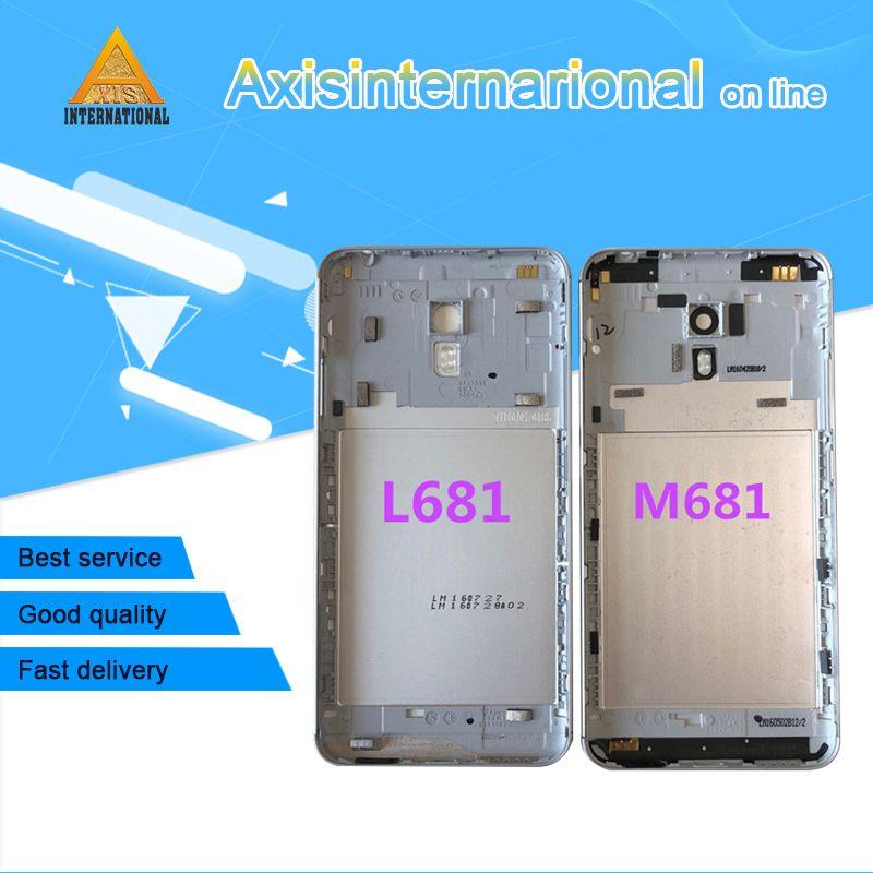 Original Axisinternational For Meizu M3 note M681 or L681H Back Battery Cover case housing+Glass lens+flash No side keys+ tools