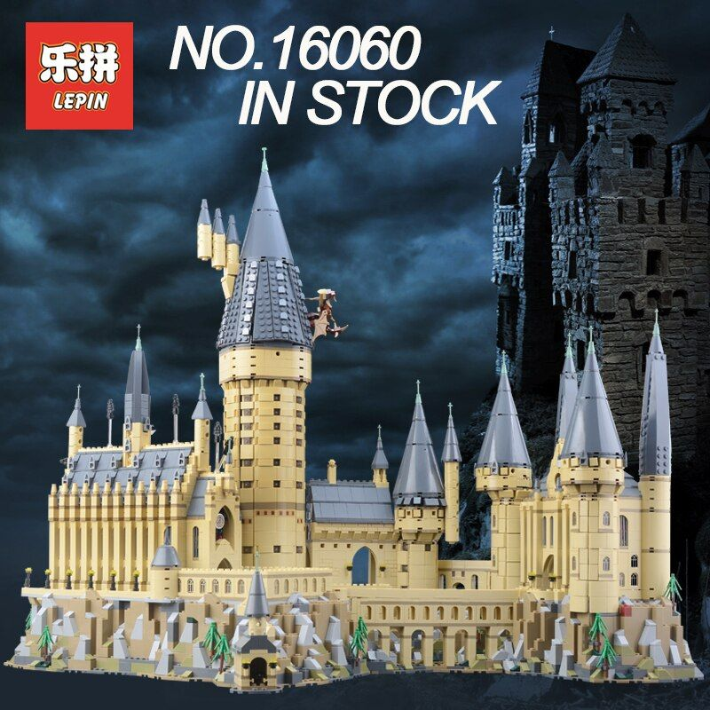 Lepin 16060 Building Blocks Bricks Harry Magic Potter Hogwarts Castle Compatible Legoing 71043 Kids Educational Toys Funny Gifts