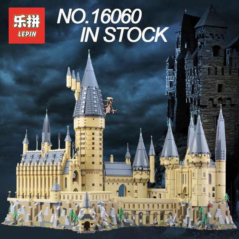 Lepin 16060 Bausteine Ziegel Harry Magie Potter Hogwarts Castle Kompatibel Legoing 71043 Kinder Pädagogisches Spielzeug Lustige Geschenke