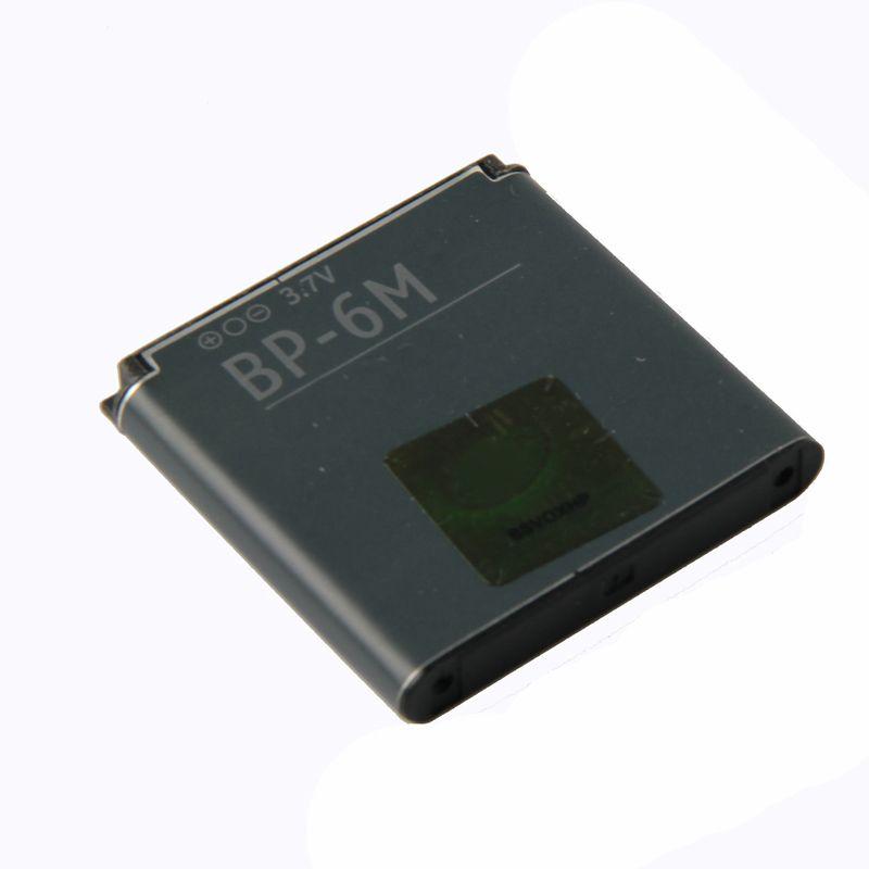 Original BP-6M phone battery for Nokia N73 N77 N93 N93S 3250 6151 6233 6234 6280 6288 6290 9300I 9300 BP6M