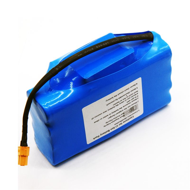 36V rechargeable li-ion battery pack 4400mah 4.4AH lithium ion cell for electric self balance scooter hoverboard unicycle