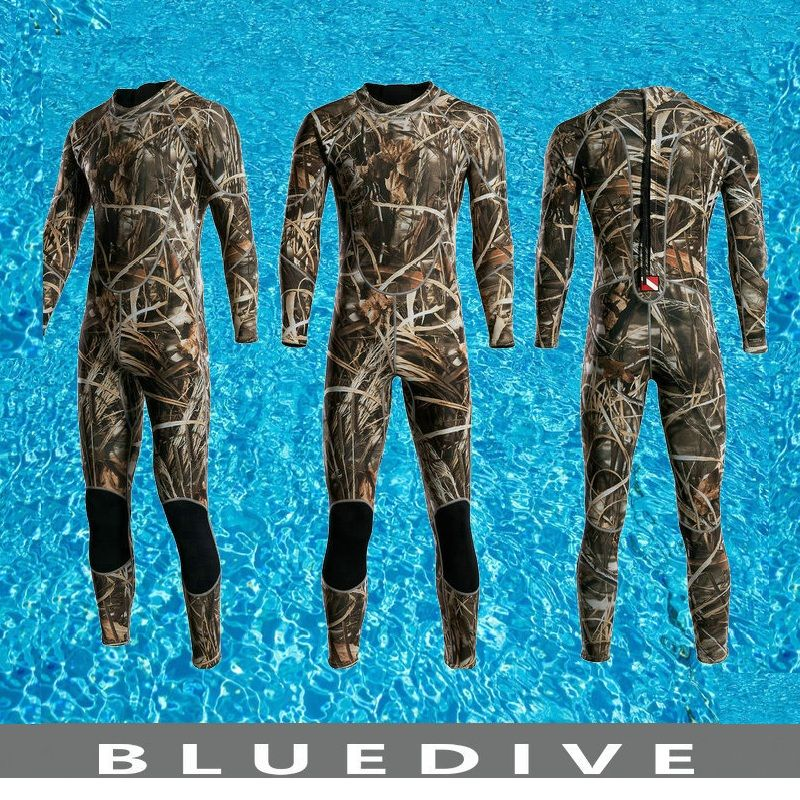 Men's 3mm Neoprene Wetsuit Scuba Diving Suit Men's Diving Suit Snorkeling Swimming Suit Clothes Men's Surfing Spearfishing Suit