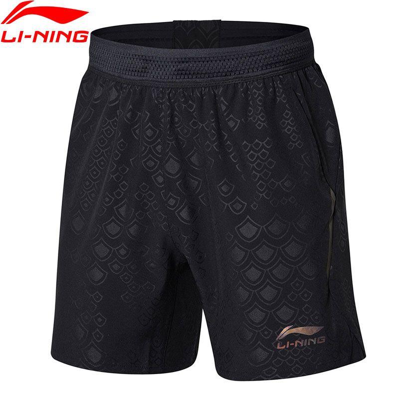 Li-Ning Men Table Tennis Shorts For National Team Regular Fit Breathable LiNing Comfort Sports Shorts AAPN163 MKD1543