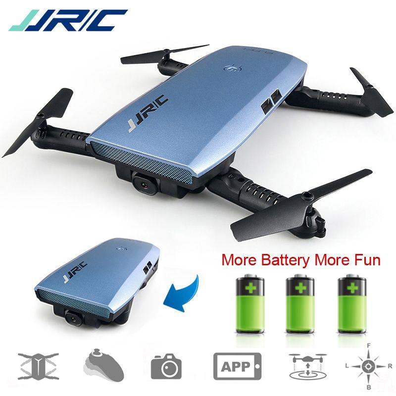 JJRC H47 ELFIE Plus Drone with Camera 720P HD FPV Foldable Quadcopter Drone RC Helicopter Kids Toys Dron VS H37 Mini Eachine E56
