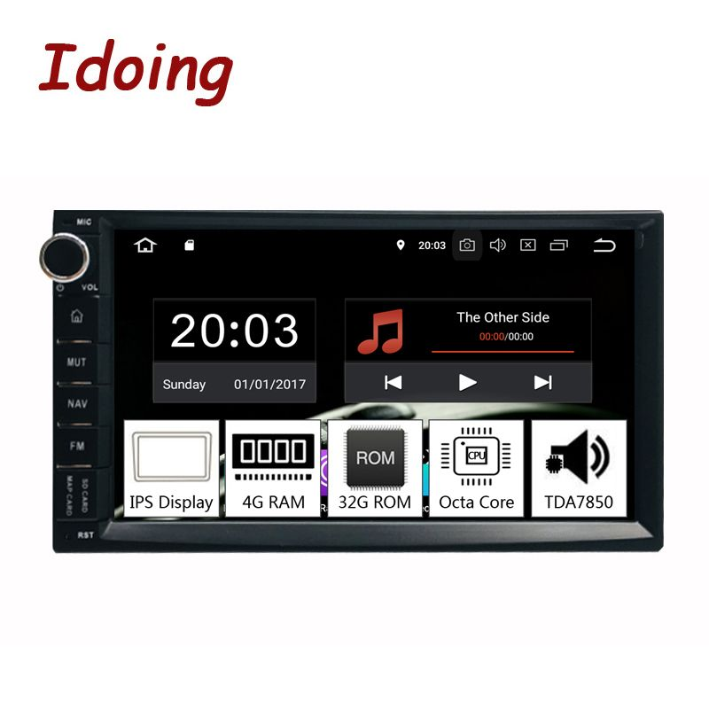 Idoing 7 PX5 4 GB RAM 32G ROM 8 Core Universal 2Din Auto Android 9.0 Radio Player IPS bildschirm GPS Navigation Multimedia Bluetooth