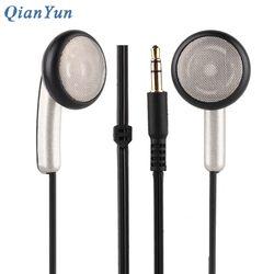 Original QianYun Qian39 HIFI Earphone Dynamic Earpieces Crystal Clear Monk Earbuds Qian 39 Flat Head Earplugs For Android IOS