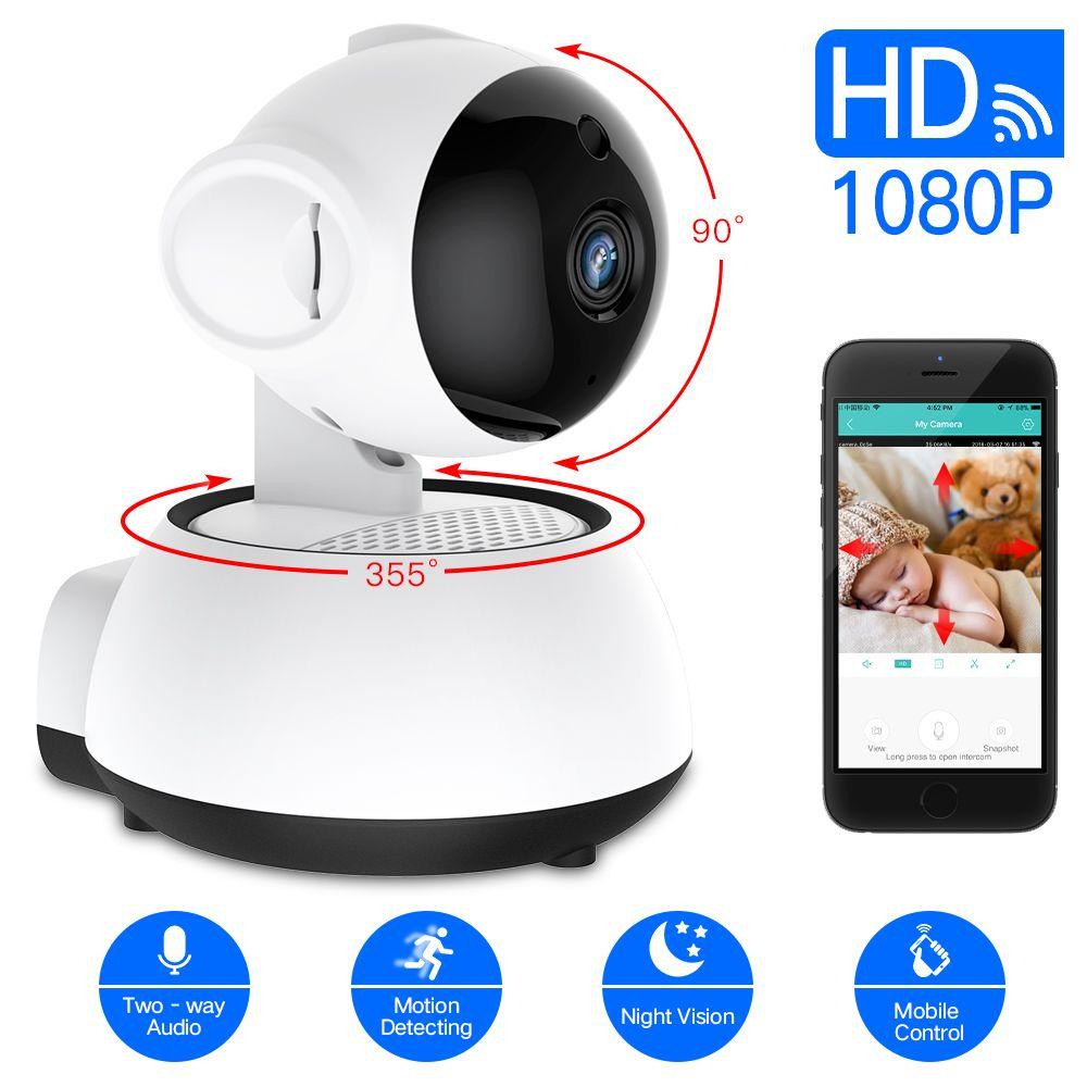 SDETER caméra de sécurité sans fil Caméra IP WIFI À La Maison caméra cctv 1080 P 720 P Audio Surveillance P2P vision nocturne moniteur pour bébé Cam